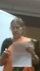 Dr. Vanitha Ramaswamy at KSU