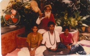 yogi with nivedita vivek devaki